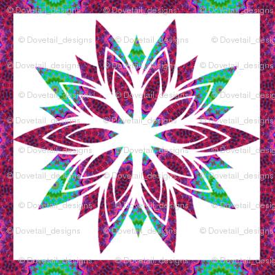 Modern Snowflakes 14