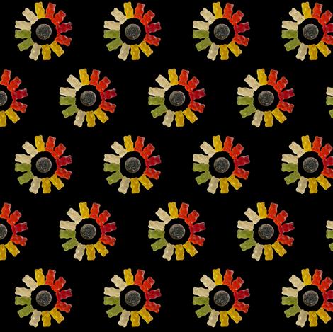 gummi bears fabric by zandloopster on Spoonflower - custom fabric