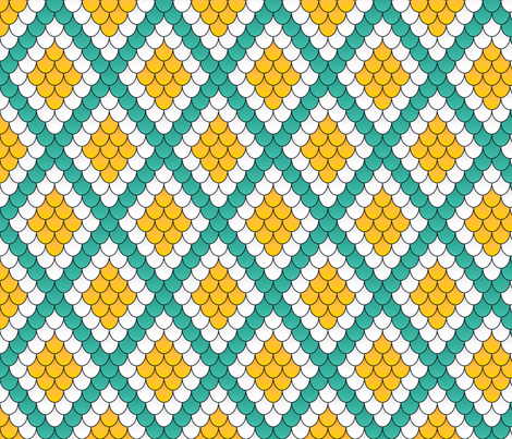 Diamonds are a snake's best friend fabric by risarocksit on Spoonflower - custom fabric