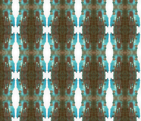 Earth Water and Air fabric by jennymeadchatterton on Spoonflower - custom fabric