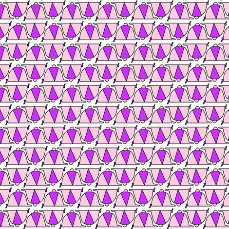 Bitty Caps fabric by ragan on Spoonflower - custom fabric