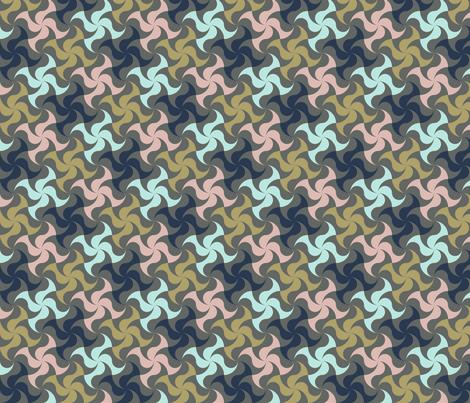 Windmill13 fabric by bearon on Spoonflower - custom fabric