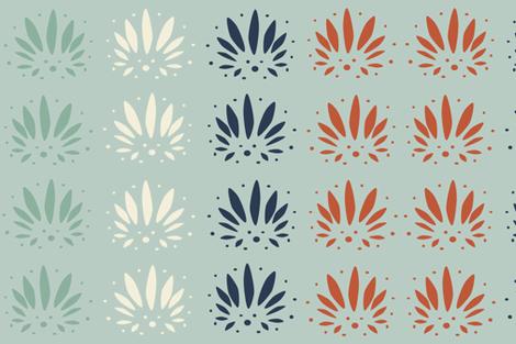 Palmettos fabric by cbl on Spoonflower - custom fabric