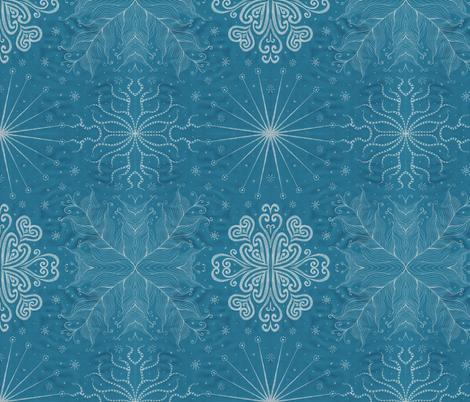 Kayi, Dusk, Medium fabric by katiame on Spoonflower - custom fabric