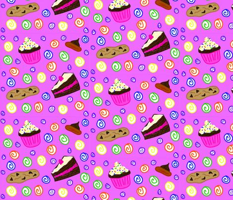 Sweet Treats fabric by babudzynski on Spoonflower - custom fabric
