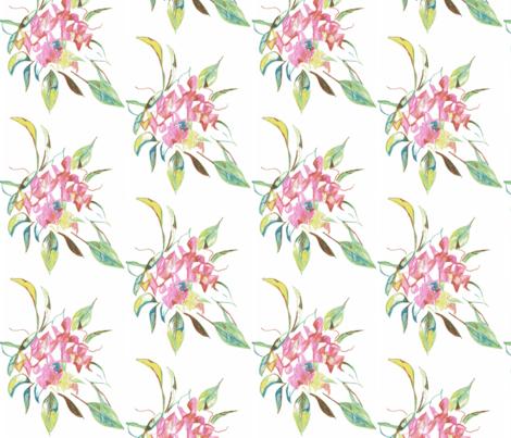 bouquet fabric by kerrysteele on Spoonflower - custom fabric