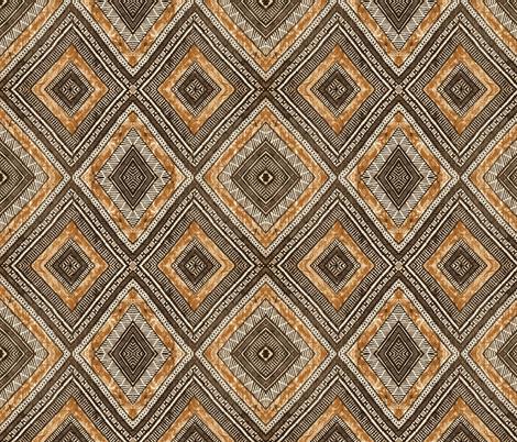 Fiji Tapa fabric by flyingfish on Spoonflower - custom fabric