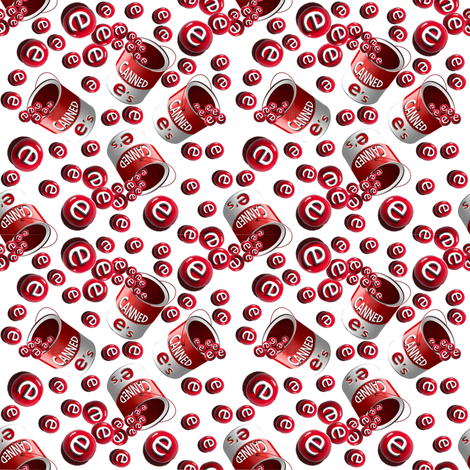 canned_e_s_for_spoonflower_contest_scatter_11 fabric by leesa3 on Spoonflower - custom fabric