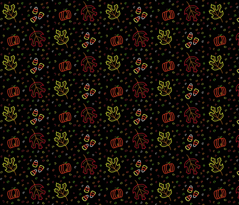 Autumn fabric by babudzynski on Spoonflower - custom fabric