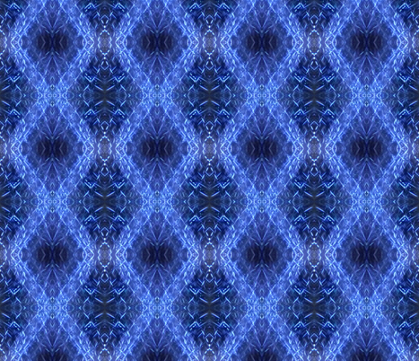 An Indigo Shibori Stitch in Time fabric by susaninparis on Spoonflower - custom fabric