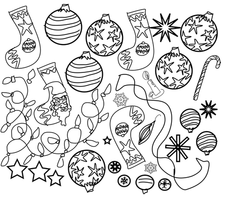 Color_Me_Christmas fabric by kcs on Spoonflower - custom fabric