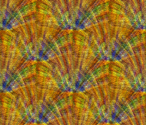 Sun Dogs  fabric by anniedeb on Spoonflower - custom fabric