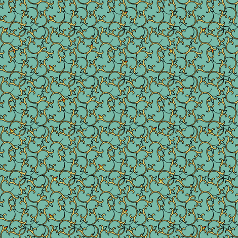 enlightened_spring fabric by glimmericks on Spoonflower - custom fabric
