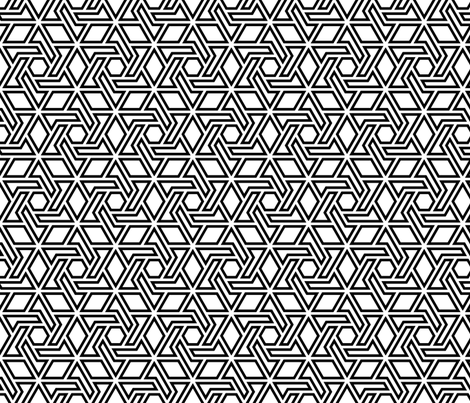 star of david - p6 fabric by sef on Spoonflower - custom fabric