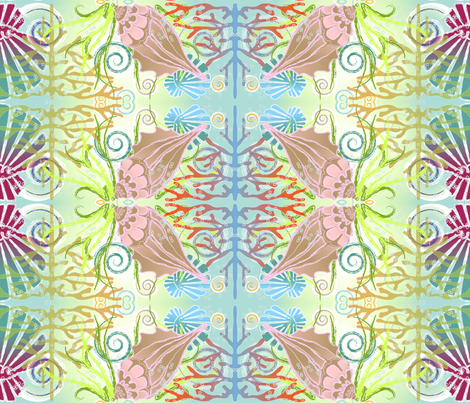 Under the sea fabric by veerapfaffli on Spoonflower - custom fabric