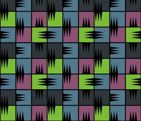 "IOU 2 (7"") fabric by penina on Spoonflower - custom fabric"