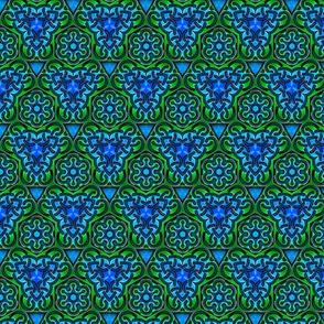 Kaleidoscope Knotwork Ocean
