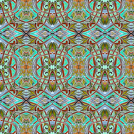 Pondering the Pond fabric by edsel2084 on Spoonflower - custom fabric