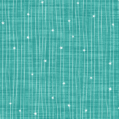 star_stripe-_aqua fabric by kezia on Spoonflower - custom fabric