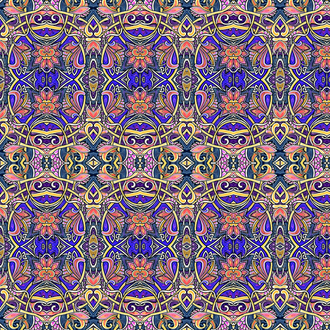 Yes, Your Majesty fabric by edsel2084 on Spoonflower - custom fabric