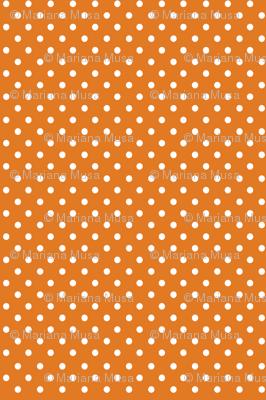 Fall Tango orange dots