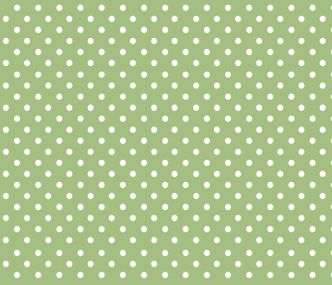 Fall Tango dark green dots fabric by floating_lemons on Spoonflower - custom fabric