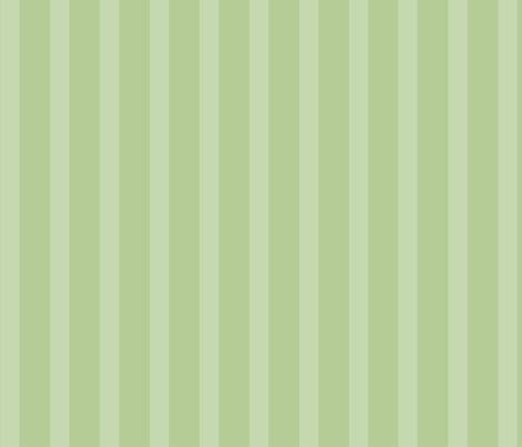 Fall Tango green stripes fabric by floating_lemons on Spoonflower - custom fabric