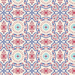 Colorful Vintage Pattern