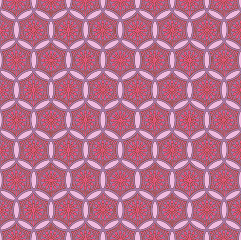 Sunrise Sashiko fabric by keweenawchris on Spoonflower - custom fabric