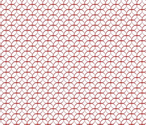 Springtime Trellis fabric by designedtoat on Spoonflower - custom fabric