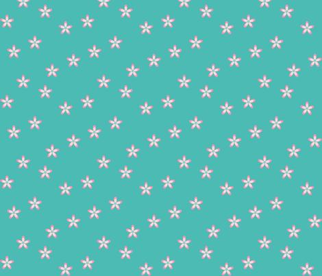 Springtime Daisy fabric by designedtoat on Spoonflower - custom fabric