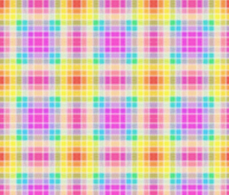 Pastel Checks fabric by glanoramay on Spoonflower - custom fabric