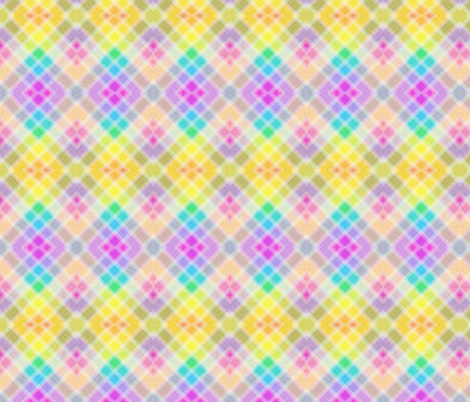 Pastel Argyle fabric by glanoramay on Spoonflower - custom fabric