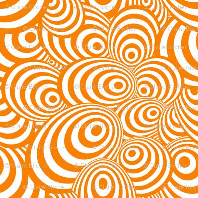 Psychedelic Zebra Orange