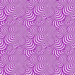 Psychedelic Zebra Purple