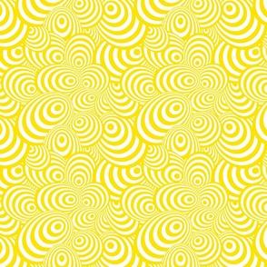 Psychedelic Zebra Yellow