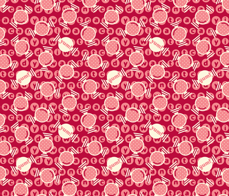 I want candy! fabric by amel24 on Spoonflower - custom fabric