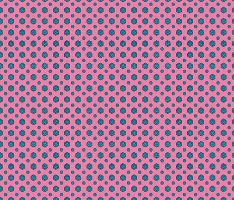 Bubblegum d20 fabric by pi-ratical on Spoonflower - custom fabric