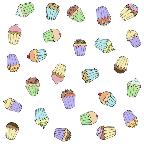 Sweets_Block fabric by tiakratter on Spoonflower - custom fabric