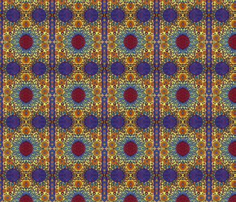 Fireballs, smaller fabric by hooeybatiks on Spoonflower - custom fabric
