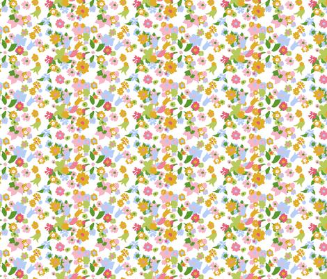 vintage 8 fabric by kategabrielle on Spoonflower - custom fabric