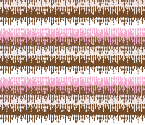 Frosting Drip fabric by mag-o on Spoonflower - custom fabric