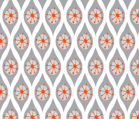 DESIGN Rmodern Grey And Orange Shop Preview Modern Fabric