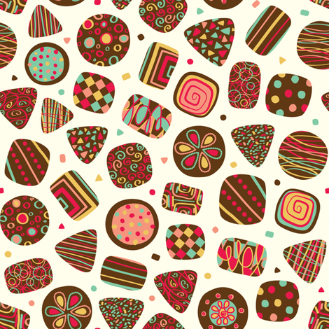 truffle treats fabric by gracedesign on Spoonflower - custom fabric