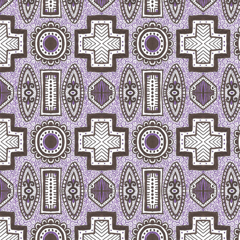 Eugenia fabric by siya on Spoonflower - custom fabric
