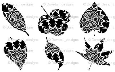 Zebra  Leaves 1