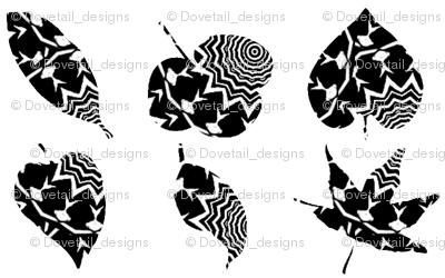 Zebra Leaves 2