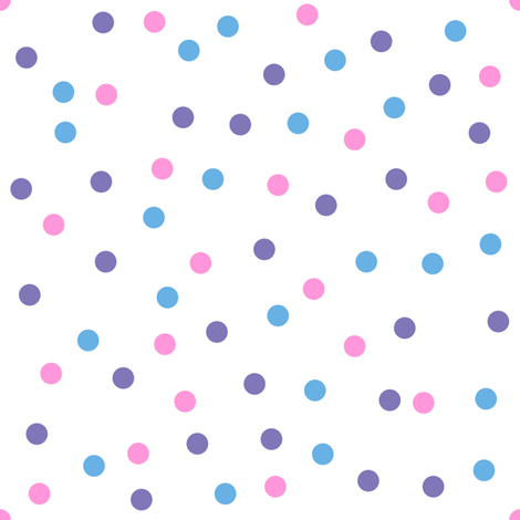 Sweetie Pie Dots fabric by shelleymade on Spoonflower - custom fabric