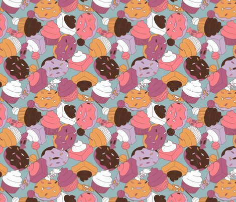 Sweet Feeling fabric by leighr on Spoonflower - custom fabric