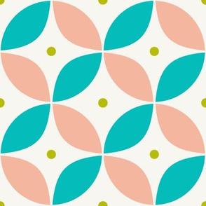 Mod Pink Circles